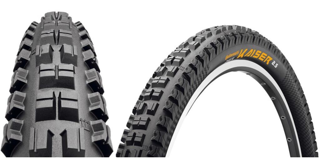Continental Der Kaiser MTB dæk sort | Find cykeltilbehør på nettet | Bikester.dk